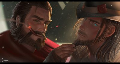 Graves-x-Twisted-Fate-by-suibiao
