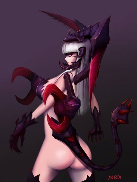 Sexy-Female-ChoGath-by-KARIA-Gender-Swap-B