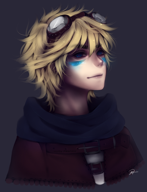 league_of_legends___ezreal_by_maryfraser-d8n8of0