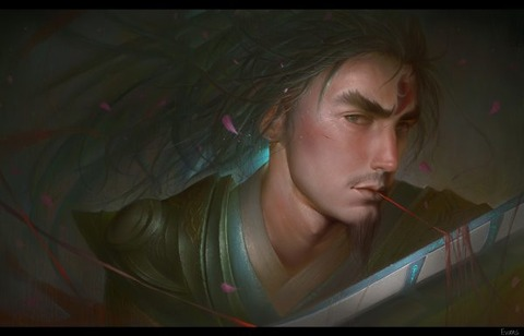 Eternal-Sword-Yi-by-suibiao-HD-Wallpa