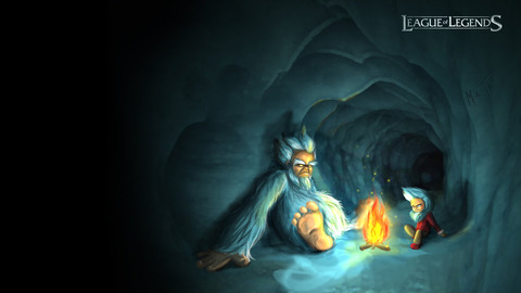 league_of_legends___nunu_speedpaint_by_baeshie-d5i6r2e