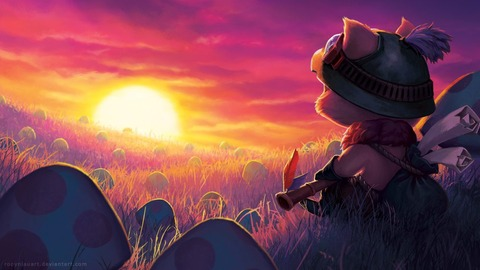 Teemo-by-robynlauart-