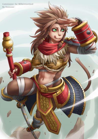 Female-Wukong-by-Exaxuxer-Gender-Swap-Ben