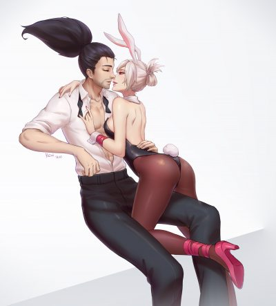 Yasuo-x-Riven-by-柯子-