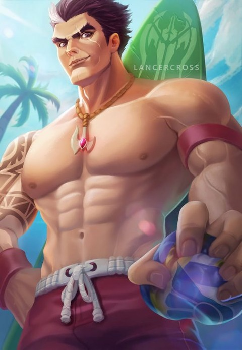 Pool-Party-Darius-by-lancercross-