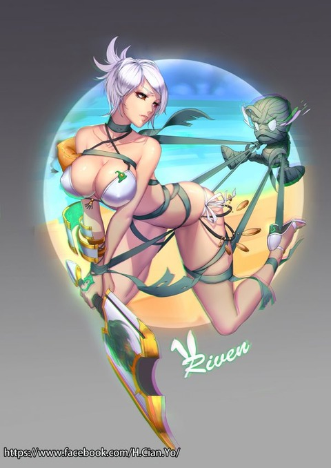 Riven-Vs-Amumu-by-Cia