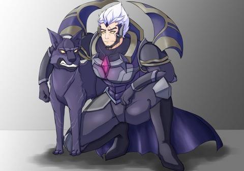 God-King-Darius-by-白雪狐狸-HD-Wall