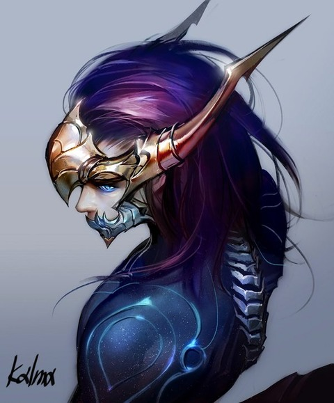 Female-Aurelion-Sol-genderbend-by-Kalma-HD