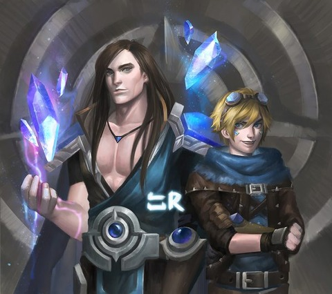Taric-Ezreal-by-haonguyenly-