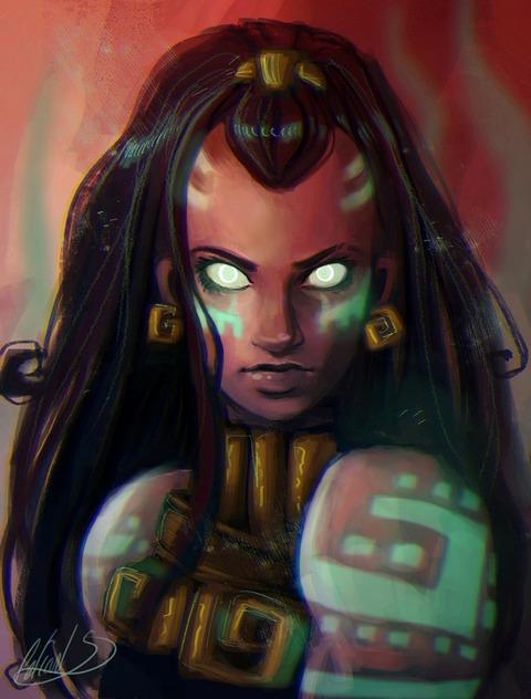 illaoi__the_kraken_priestess_by_celiarts-d9gcrdu