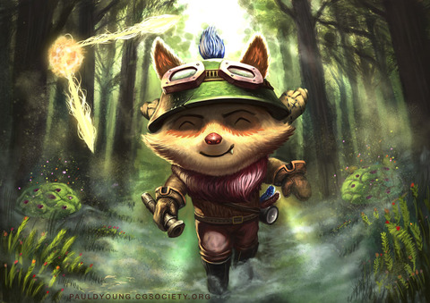 teemo_fan_art_by_drakhummingbird-d8d8cyt