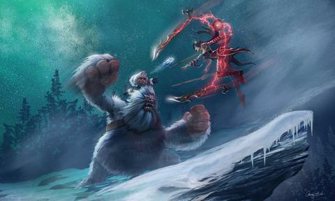 nunu_vs_irelia__league_of_legends_by_wandererlink-d7nikkq
