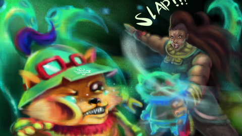 league_of_legends_illaoi_vs_teemo_by_artiom1q2w-d9jstks
