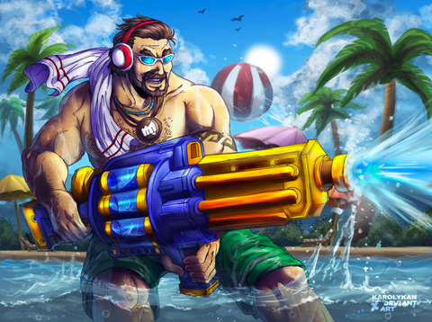 graves___pool_party_by_karolykan-d8rwsbp