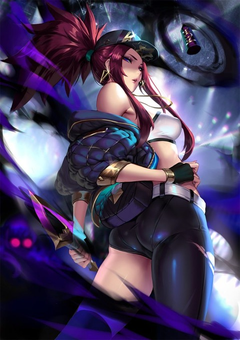 KDA-Akali-by-Cian-yo-HD-Wallpaper-