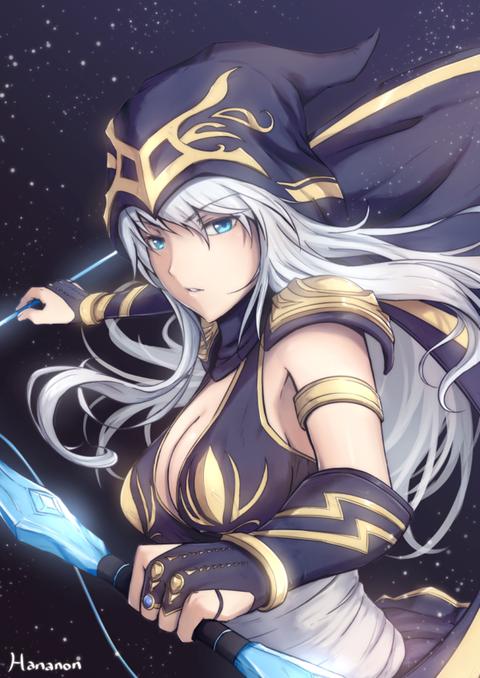 Ashe-League-of-Legends-Fan-Art-2308