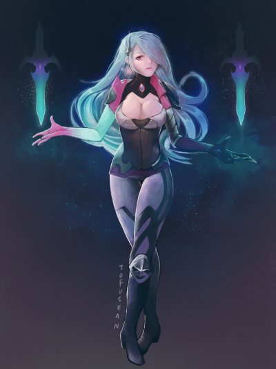 Death-Sworn-Katarina-by-tofusean-HD-Walf-Legends-lol-400x534