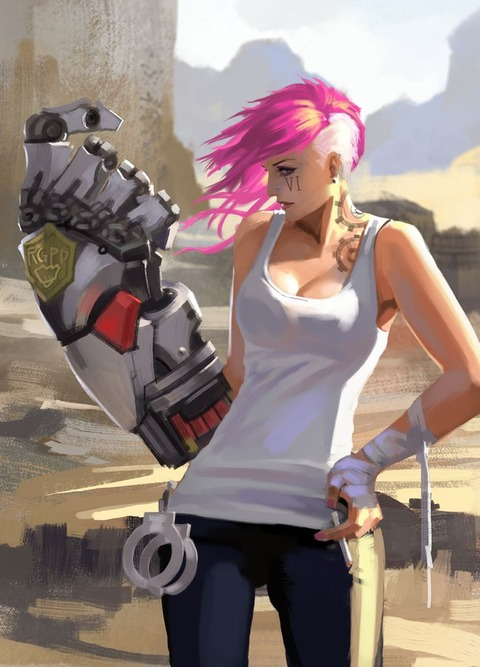 Vi-League-Of-Legends-Fan-Art-11