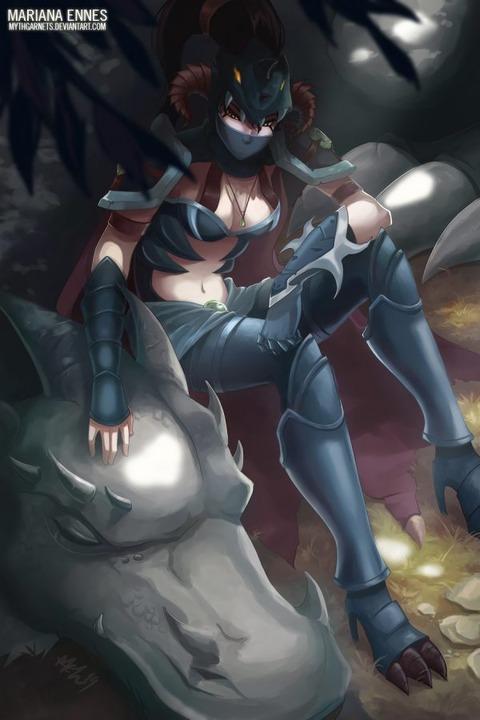 Dragonslayer-Vayne-by-MarianaEnnes