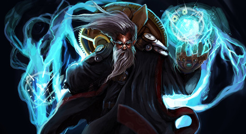 zilean__league_of_legends_fanart_by_dragonflamebg-d7fnxyu