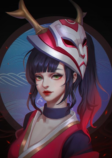 Blood-Moon-Akali-by-dian