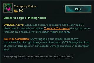 corrupting potion
