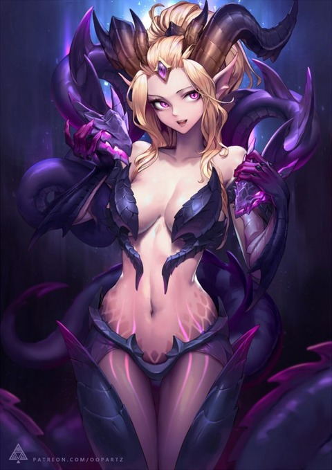 Dragon-Sorceress-Zyra-by-OOPARTZ