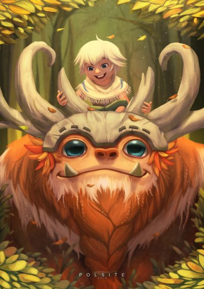 Sasquatch-Nunu-Willump-by-polmam