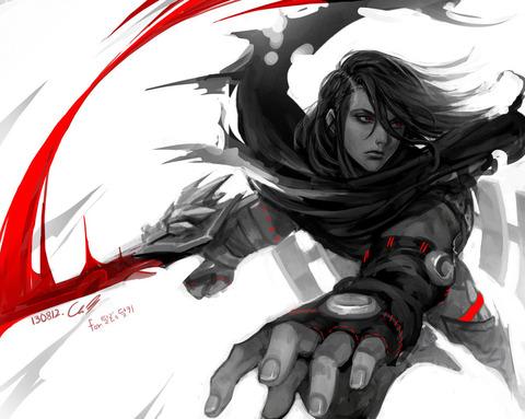 lol_fan_art_dragonblade_talon_by_angju-d6huo7j