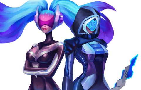 dj_sona_and_project_ashe_wip_by_misjin-db91k2d