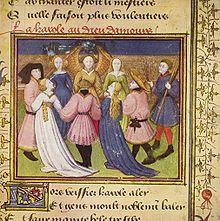 薔薇物語 写本1420−30
