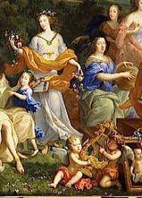 家族の変装ルイ14世1670