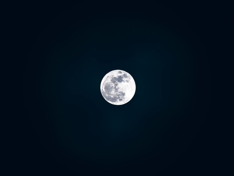 black-wallpaper-cosmos-full-moon-8703