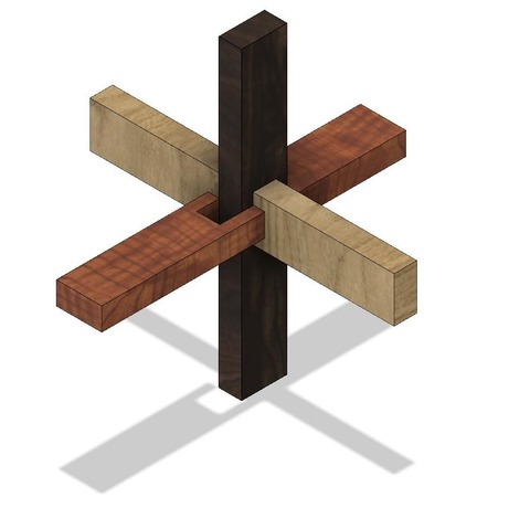 3本組木 v3 N3-