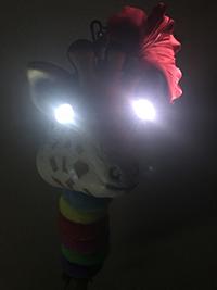 キリンくん点灯