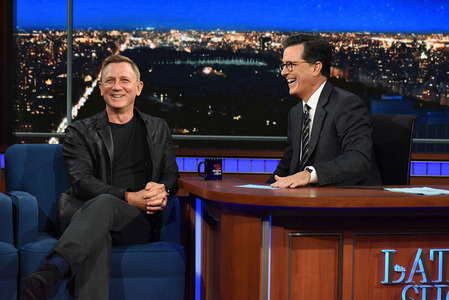 The Late Show with Stephen Colbert last night