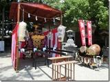黒磯神社の神輿