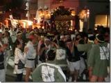 黒磯神社の神輿担ぎ
