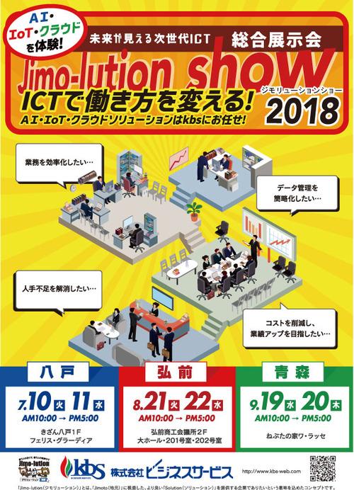 ジモリューション告知2018