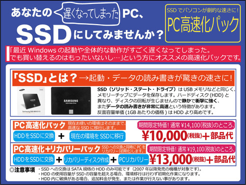 SSD-高速化
