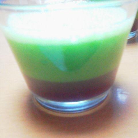 2色スムージー