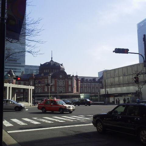 大手町から東京駅へ