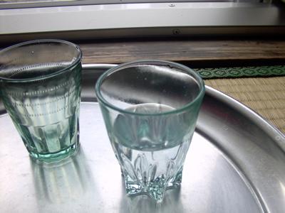 TRAY&GLASS