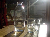 ミルク瓶&ベトナムグラス