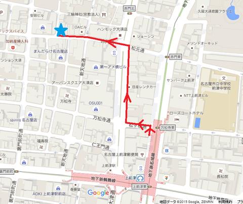 ぱんぷきん 地図