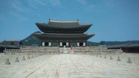 韓国 景福宮 素材