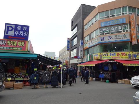 韓国 ハングル チャガルチ 市場 フリー 素材 写真