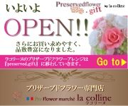 プリフラワーラコリーヌ【preserverflower.gift】OPEN