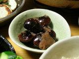 花豆と干し林檎のプリザーブ