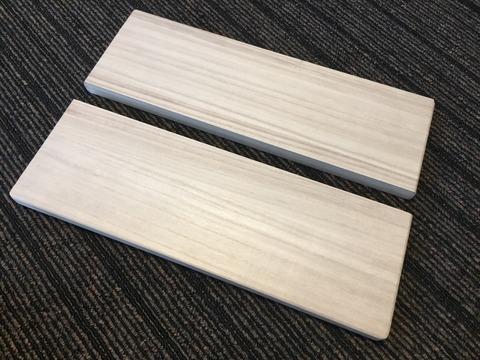 アウトドア キャンプ DIY 自作 桐 無垢材 まな板 マナイタ 折りたたみ